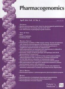 Imagen3 Pharmacogenetics of ovarian response