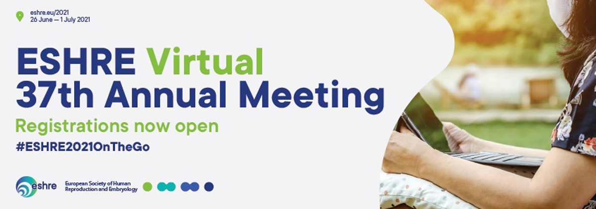 37th Virtual Annual Meeting of the European Society of Human Reproduction & Embryology. ESHRE. 26 Junio – 1 Julio 2021