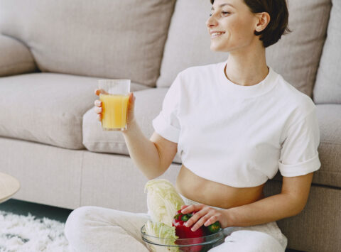 Nutrition and exercise during quarantine for pregnant women